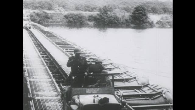 vidéos et rushes de general patton and the battle of the siegfried line. - séquence segment monté