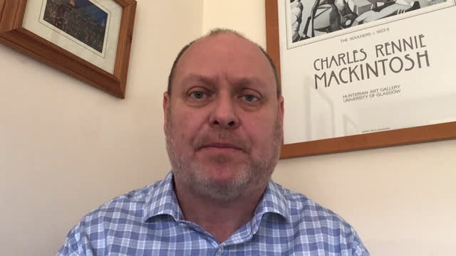 general secretary dave penman criticising prime minister boris johnson for retaining priti patel as home secretary following a report finding her not... - trade union stock videos & royalty-free footage