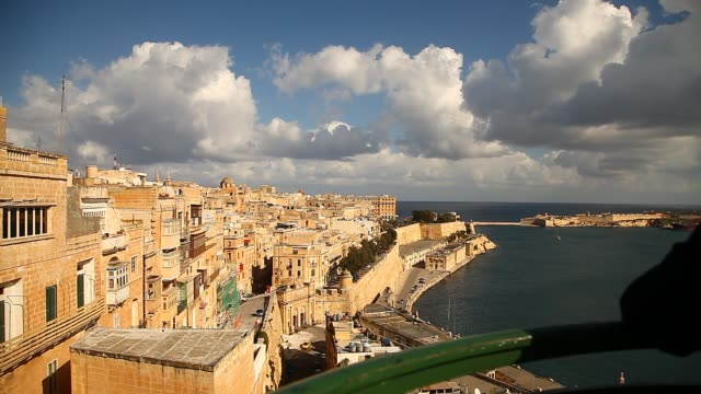 stockvideo's en b-roll-footage met general shots in malta - valletta