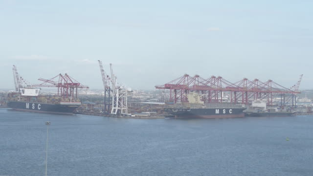 General shots of the Durban Port operated by Transnet in South Africa on Friday May 25 2018