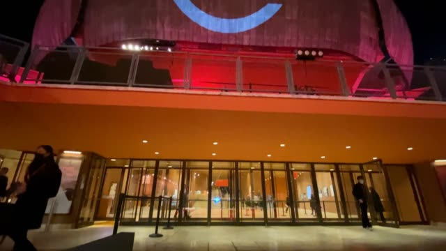 general view at the red carpet during the 15th rome film festival at the auditorium parco della musica on october 17, 2020 in rome, italy. - rome film festival stock videos & royalty-free footage