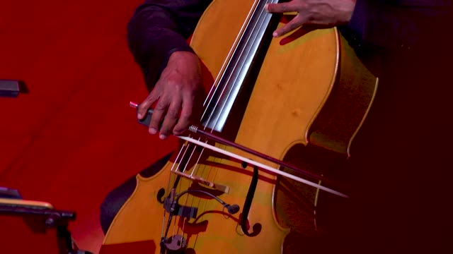 general view - live band - cello at 'turn up london' at cadogan hall during 'turn up london' at cadogan hall on june 29, 2020 in london,... - performing arts event stock videos & royalty-free footage