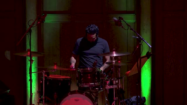 general view - live band - drums at 'turn up london' at cadogan hall during 'turn up london' at cadogan hall on june 29, 2020 in london,... - drummer stock videos & royalty-free footage