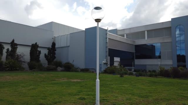 general view of astrazeneca is seen during prime minister scott morrison's visit on august 19, 2020 in sydney, australia. the australian government... - 首相点の映像素材/bロール
