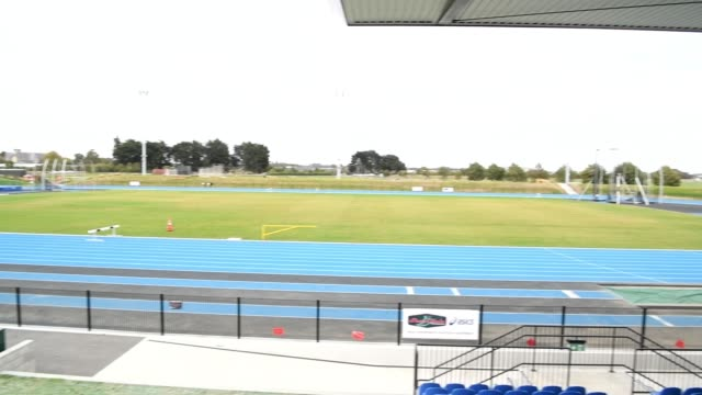general view of empty hockey fields at nga puna wai on march 21, 2020 in christchurch, new zealand. sporting codes across new zealand including field... - all around competition stock videos & royalty-free footage