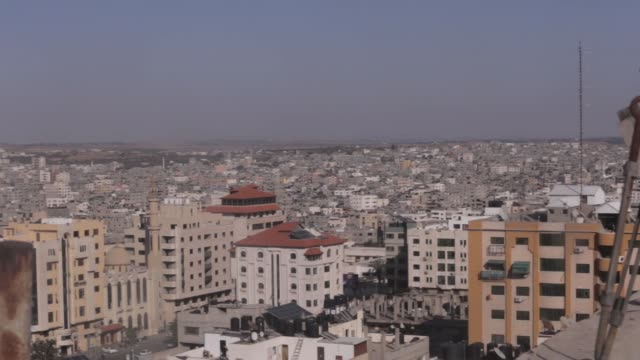 a general view of gaza on may 5 2019 - general view stock videos & royalty-free footage