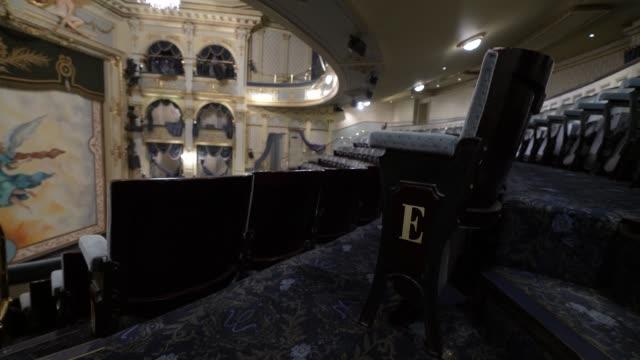 GBR: Coronavirus: Inside London's West End Theatre's During Lockdown