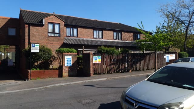 general view of lew evans extra care housing for the elderly in east dulwich during the coronavirus pandemic on april 22, 2020 in london, england.... - brian dayle coronavirus stock videos & royalty-free footage
