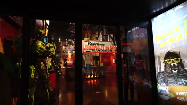 general view of ripley's believe it or not! in new york, united states, on august 26, 2020. - {{asset.href}} stock-videos und b-roll-filmmaterial