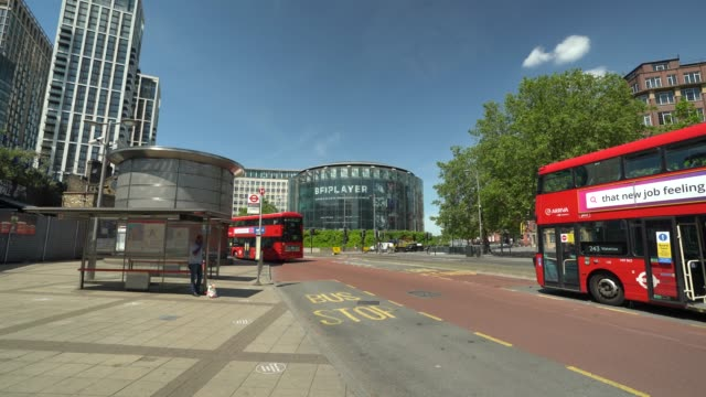 general view of the bfi imax during the coronavirus pandemic on may 20 2020 in london england the british government has started easing the lockdown... - the times bfi london film festival stock videos & royalty-free footage