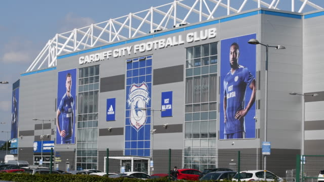 A general view of the Cardiff City Stadium on January 23 2019 in Cardiff Wales Emiliano Sala is one of two people who boarded a Piper Malibu private...