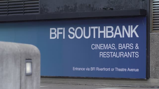 general view of the exterior of the bfi southbank on april 19, 2021 in london, england. the academy of motion picture arts and sciences is said to be... - western usa stock videos & royalty-free footage