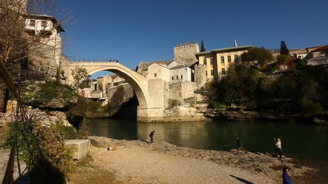 General view of the Mostar Old Bridge 3