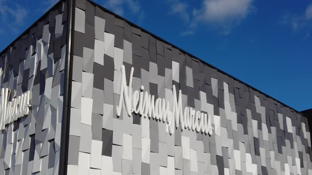 general view of the neiman marcus store on december 15, 2020 in garden city, new york. many retailers are hoping for increased sales during the... - neiman marcus stock videos & royalty-free footage