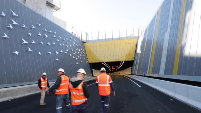 general view of the northconnex tunnel on june 22, 2020 in sydney, australia. the $3 billion northconnex project in northern sydney is a tunnel... - north pacific stock videos & royalty-free footage