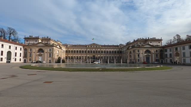 general view of villa reale on the day of the return of the keys from the managers to consorzio pubblico 14 years in advance on january 15, 2021 in... - 14 15 years stock videos & royalty-free footage