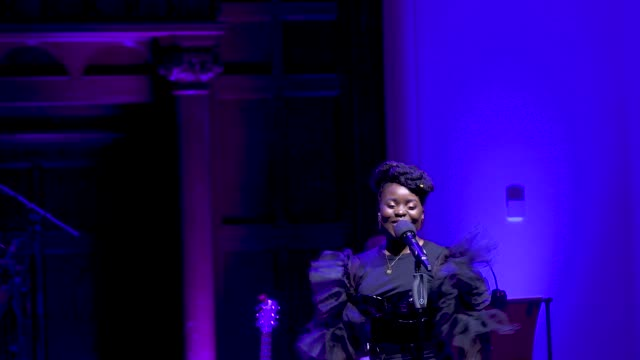 general view sharon rose sings don't upset the rhythm at 'turn up london' at cadogan hall during 'turn up london' at cadogan hall on june 29 2020 in... - distraught stock videos & royalty-free footage