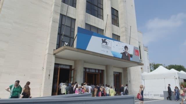 general views - 71st venice international film festival on august 27, 2014 in venice, italy. - 第71回ベネチア国際映画祭点の映像素材/bロール