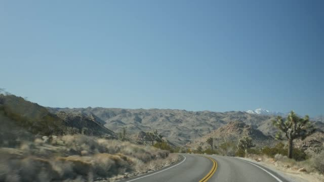 stockvideo's en b-roll-footage met general views and reaction to the us government shutdown by local residents and government employees shows entrance to joshua tree national park cars... - joshua tree national park