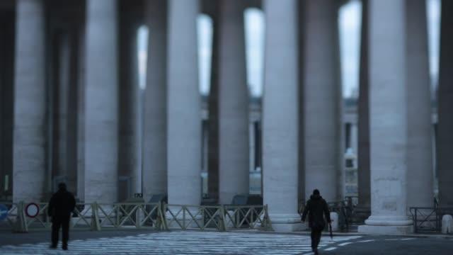 general views around vatican city general views around vatican city on february 24 2013 in vatican city vatican - ベネディクト16世の退位点の映像素材/bロール