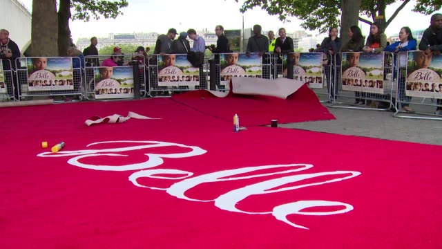 general views at the 'belle' premiere at bfi southbank on 5 june 2014 in london england - bfi southbank stock videos & royalty-free footage