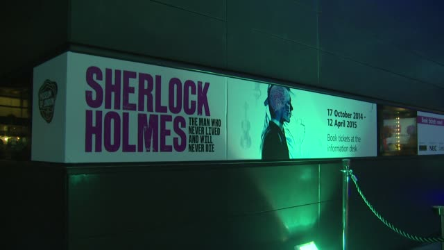 general views at the sherlock holmes launch party at london celebrity sightings on 16th october in london, england. - sherlock holmes stock videos & royalty-free footage
