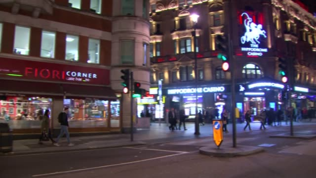 general views central london at night general views central london at night england london central london general view covent garden market / people... - charing cross stock videos and b-roll footage