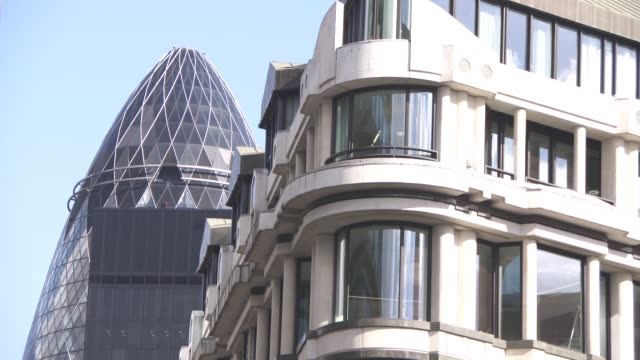general views - city of london at london banks on september 25, 2015 in london, england. - documentary footage stock videos & royalty-free footage