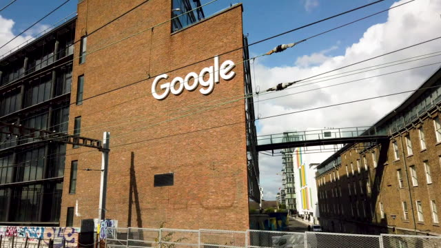 general views from google hq dublin - headquarters stock videos & royalty-free footage