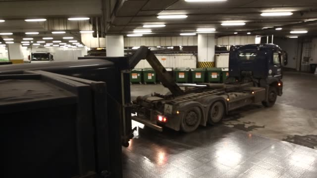general views of a garbage disposal waste disposal centre in berlin germany - garbage disposal stock videos and b-roll footage