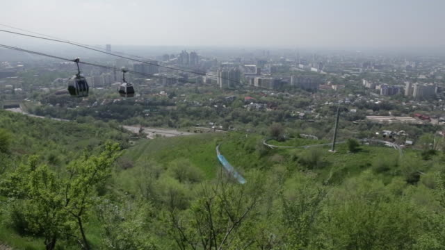 General views of Almaty Kazakhstan on Saturday April 28 2018