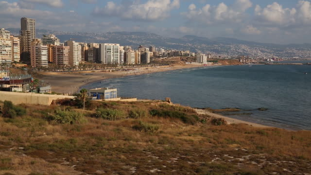 General views of Beirut economy including general retail currency banks construction real estate and city skylines in Lebanon on Tuesday July 24 2018
