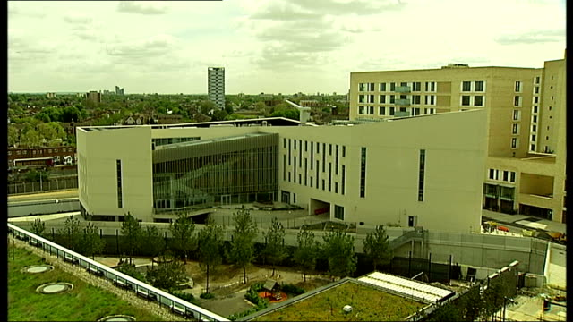 General views of East Village housing estate in Olympic Park ENGLAND London Stratford Olympic Park EXT General views of block of flats in East...