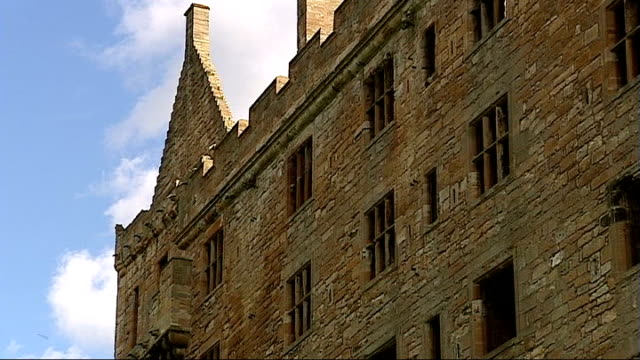 general views of edinburgh and linlithgow linlithgow views of linlithgow palace - linlithgow stock videos and b-roll footage