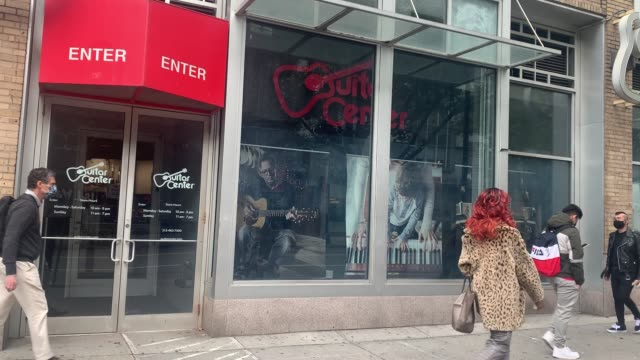 NY: Guitar Center Files For Bankruptcy