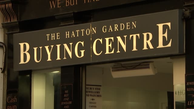 general views of hatton garden and the castle pub more general views of hatton garden / entrance to hatton garden safe deposit ltd / people along /... - the castle stock videos and b-roll footage