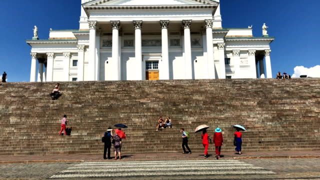 General views of Helsinki on the day of the TrumpPutin summit on July 16 2018 in Helsinki Finland The two leaders met oneonone and discussed a range...
