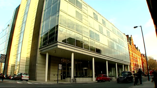 london gir ext general views of exterior of itn building at 200 grays inn road - inn stock videos & royalty-free footage