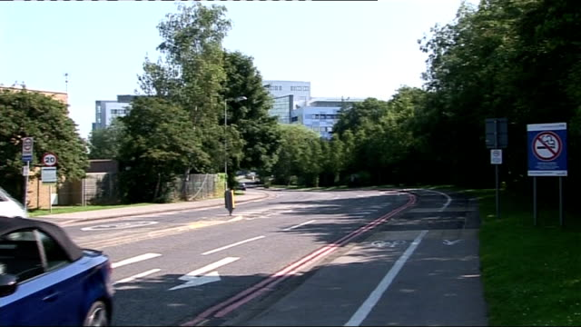 general views of john radcliffe hospital england oxford john radcliffe hospital ext traffic along / sign reading 'welcome to the john radcliffe... - children's hospital stock videos & royalty-free footage