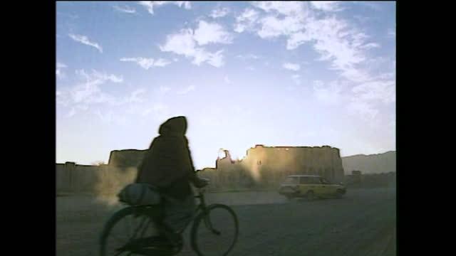 "general views of kandahar under taliban control; january 2000. - ""bbc news"" stock videos & royalty-free footage"
