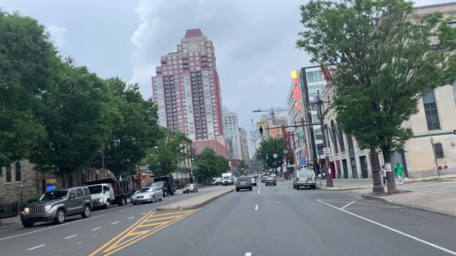general views of philadelphia, pennsylvania on july 06 as major cities in the u.s. continue to adjust to measures to prevent the spread of the covid... - philadelphia pennsylvania stock videos & royalty-free footage