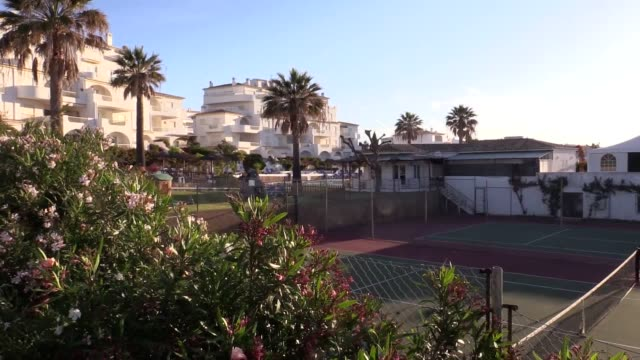 General views of Praia da Luz to mark the 10th anniversary of the disappearance of Madeleine McCann who vanished from apartment 5A at about 9pm on...