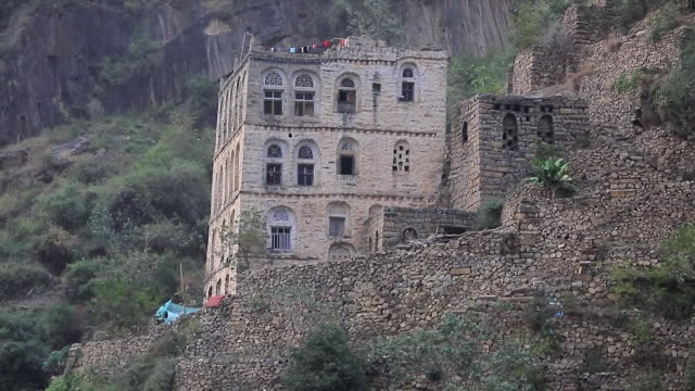 General views of Raymah a remote mountain village in Yemen