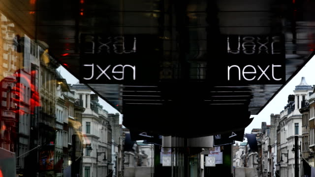 General Views of retailers in oxford Street London