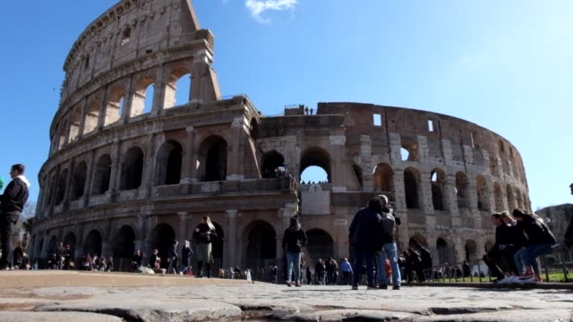 general views of rome in march 4 2020 - general view stock videos & royalty-free footage