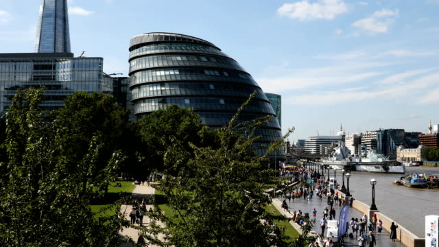 general views of the city of london - gla building stock videos & royalty-free footage