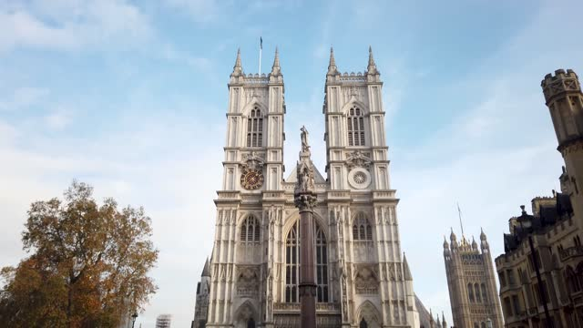 stockvideo's en b-roll-footage met general views of the westminster abbey on november 27, 2020 in london, england - westminster abbey