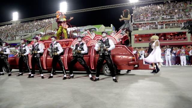 general views rio carnival parade 2013 - 2013 stock videos & royalty-free footage