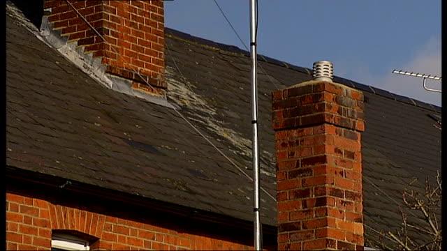 stockvideo's en b-roll-footage met general views rooftop and chimneys - carbon monoxide