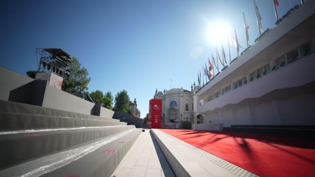 stockvideo's en b-roll-footage met general views - the 77th venice film festival on september 01, 2020 in venice, italy. - filmfestival